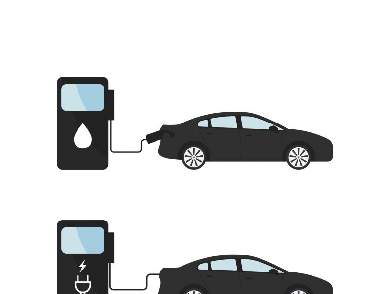 Gas vs. Electric — Circa 1895