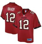 Tom Brady Red Tampa Bay Buccaneers Jersey