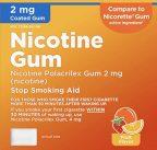Amazon Basic Care Nicotine Polacrilex Coated Gum