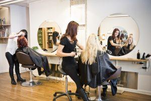 Why your son needs a job at a hair salon.