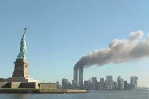 911! Lady Liberty has fallen, and we need to stand her back up!