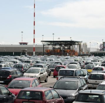 How to park at the airport for free.