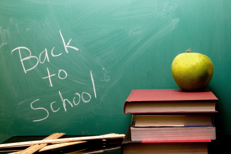 Summer Is Over.  Back to School!